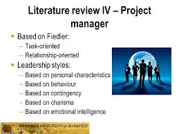 Literature review on leadership styles   writinggroup    web fc  com LITERATURE REVIEW