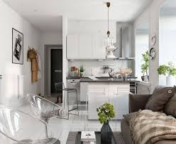 One Bedroom Apartment Designs by Bright Scandinavian Decor In 3 Small One Bedroom Apartments