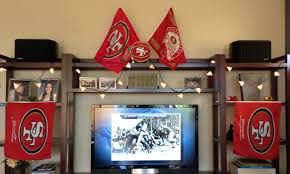 seahawks 49ers thanksgiving score football table runner u2013 life of the party always