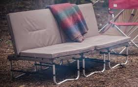 campfield futon transforming outdoor furniture for camping and