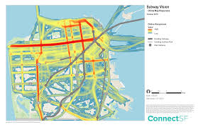 Sf Metro Map by Subway Vision U2013 Connect Sf