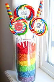 Rainbow Wedding Centerpieces by Best 25 Rainbow Candy Buffet Ideas On Pinterest Candy Themed
