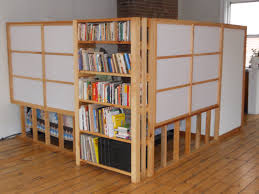 Room Dividers Furniture Flawless Bookshelf Room Divider With Wooden Flooring