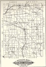 Van Wert Ohio Map by Preblemap Jpg