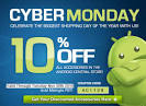 CYBER MONDAY Sale - Save 10 percent on all Android accessories ...