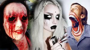 Halloween Barbie Makeup by Top 20 Diy Halloween Makeup Tutorials Compilation 2017 Scary