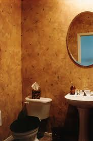 Tiny Powder Room Ideas Bathroom Great Wall Mount Circle Mirror Over White Porcelain
