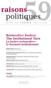 Many Men Are Good Judges in Their Own Case  Restorative Justice     Many Men Are Good Judges in Their Own Case  Restorative Justice and the Nemo Iudex Principle in Anglo American Law