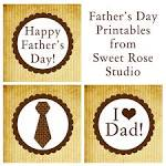 Father's Day Printables | Sweet Rose Studio