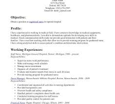 Registered Nurse Resume Examples by Student Nurse Resume Example Best 20 Nursing Resume Ideas On