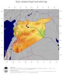 Syria Maps by Map Syria Ginkgomaps Continent Asia Region Syria