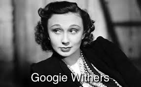 Googie Withers WWII-era British actress. (Her real first name was Georgette.) - googie-withers
