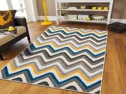 Funky Rugs Amazon Com New Fashion Luxury Chevron 5x8 Large Rugs For Living
