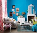 Bright Blue Living Room At Inspirational Colorful Design Ideas ...