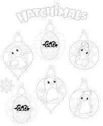 hatchimals coloring pages getcoloringpages com
