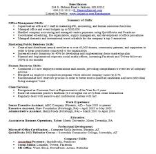 Resume Examples  Examples of Skills for Resume  examples of skills
