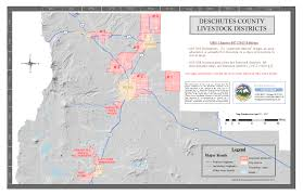 Oregon State Fair Map by Livestock District Maps Deschutes County Oregon