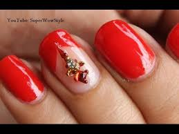 watch indian wedding nails bindi nail designs no tools nail art