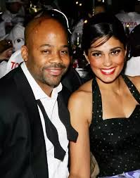 Old pic of Rachel Roy  Damon Dash  and one of their daughters