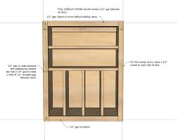Kitchen Cabinet Overlay Ana White Wall Kitchen Cabinet Basic Carcass Plan Diy Projects