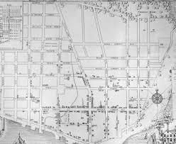Map Grid The Story Behind Georgetown U0027s Street Grid U2013 Greater Greater Washington