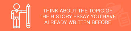 Thesis paper topics us history Free Essays and Papers