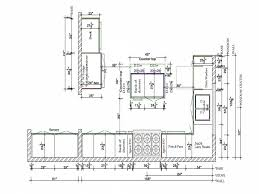 Kitchen Island Sizes by The Kitchen Drawing An Excellent Home Design