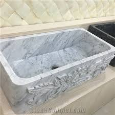 Grey Marble Kitchen Sink Italy Gray Marble Wash Basins From China - Marble kitchen sinks