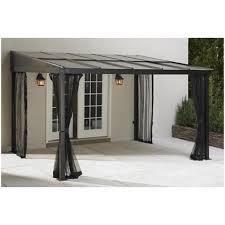 Lowes Gazebos Patio Furniture - backyards ergonomic metal gazebo designs 6 outdoor canopy lowes