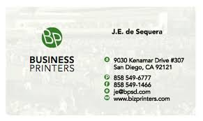Business Card Printing San Diego Quality Offset Printing In San Diego
