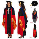 Ceremonial Attire: Complete Doctoral Regalia for Stanford University - Downloadable
