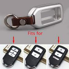 lexus key accessories alloy smart remote key holder for 2015 2017 honda crv civic case