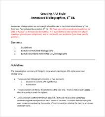 Annotated Bibliography FAMU Online