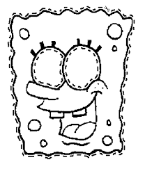 Halloween Masks Printables Make A Spongebob Mask Coloring Page Spongebob Crafts Pinterest