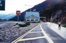 Skagway - Fraser Border Crossing