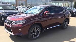 pictures of lexus suv 2015 2015 lexus rx 350 awd f sport package review red on black