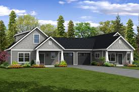 How Many Square Feet Is A 1 Car Garage Duplex House Plans Duplex Plans Duplex Floor Plans