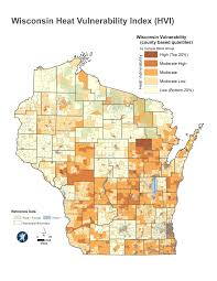 Wisconsin Map With Counties by 2017 Community Health Assessment