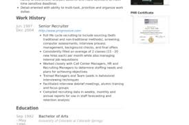 Recruiting Resume Examples by Job Resume Sample Staffing Recruiter Resume Example Staffing