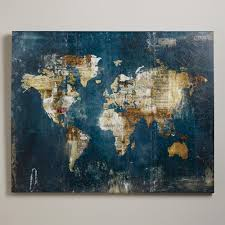 World Map Pinboard by Zoey Riley World Market Newsprint Stamps And Sheet Music