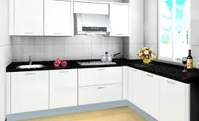 White Kitchen Cabinets With Black Granite Countertops by Best 25 White Kitchen Cabinets Ideas On Pinterest Kitchens With