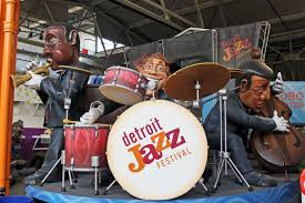 Detroit Jazz Festival Map Wading In Big Shoes 2015