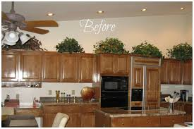 decorating ideas for above kitchen cabinets clever 12 top of hbe