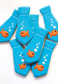 thanksgiving ties tie cookies with goldfish the bearfoot baker