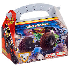 monster truck show missouri monster jam 3d empty favor boxes birthdayexpress com