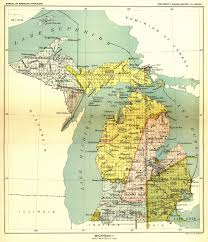 Us Map Michigan by Indian Land Cessions In The U S Michigan 1 Map 29 United