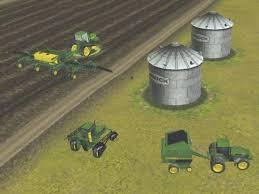 احترف الزراعة الحصاد بالجرار John Deere بمساحة 211 ميجا على