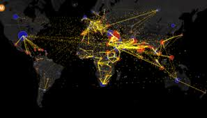 Watch as the world     s cities appear one by one over       years     Metrocosm All the World     s Immigration Visualized in   Map