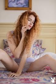Heidi Romanova Curly haired lady body in Playboy|Fuskator
