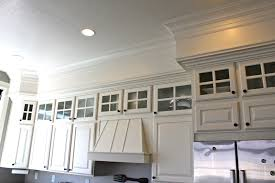 Crown Moulding Kitchen Cabinets Amy U0027s Casablanca Kitchen Soffit Transformation